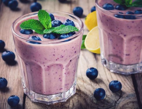 Blueberry Lemon Shake