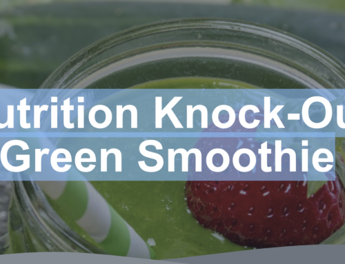 Nutrition Knock-Out Green Smoothie